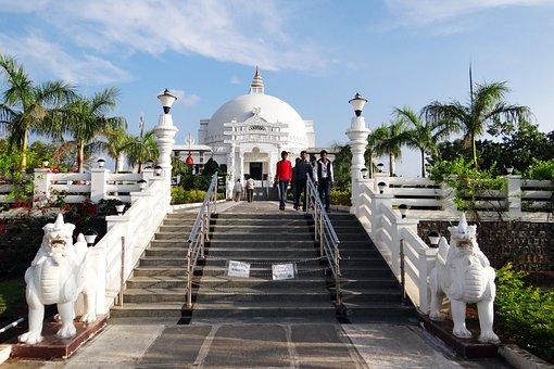 Temple, Buddha Vihar, Gulbarga, Buddhism, Religious