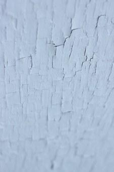 White, Paint, Chipped, Texture, Grunge, Old, Rough