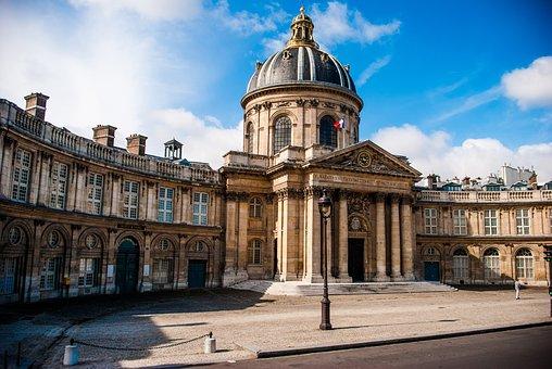 Mazarine Library, Paris, Architecture, Dome