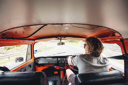 Car, Travel, Road, Vacation, Driving, Van, Driver