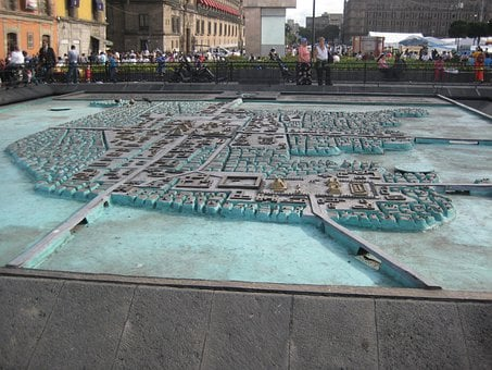 Tenochtitlan, Model, Mexico