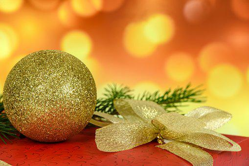 Christmas Gift, Decoration, Bauble, Celebration