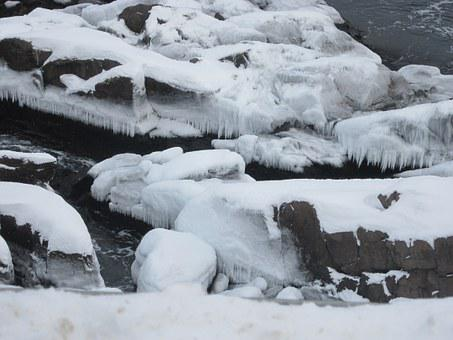 Ice, Rock, Petty Harbour, Winter, Nature, Frost, Cold