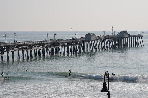 Pier, San Clemente, Ocean