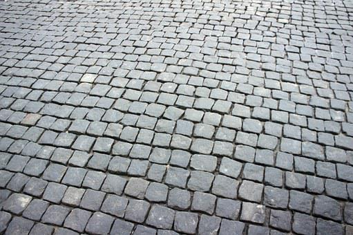 Up, Road, Tile, Russia, Moscow