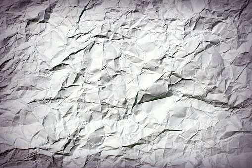 Crumpled Paper, Abstract, Antique, Backdrop, Background