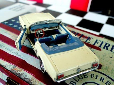 Oldtimer, Model, Auto, Toys, Model Car, Ford