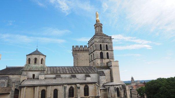 Avignon, Cathedral Notre-dame-des-doms