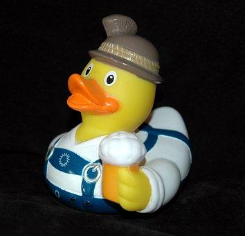 Rubber Duck, Bath Duck, Squeak Duck, Duck, Bavaria