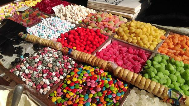 Damascus, Old Damascus, Syria, Sweets, Bzorieh, Bazar