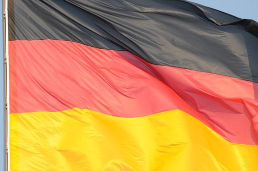 Germany, Flag, Black Red Gold, Reichstag, German Flag