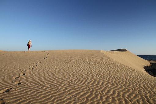 Dunes, Gran Canaria, Canary Islands, Sand, Panorama