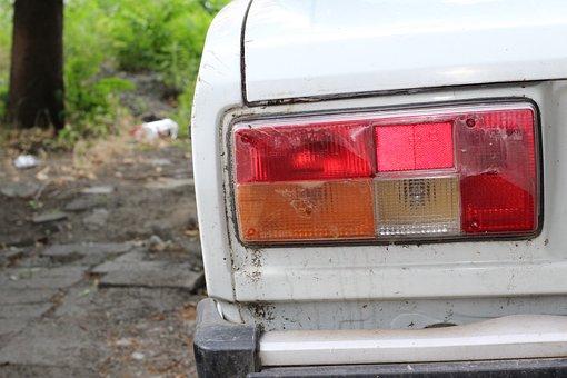 Rear Lamp, Car Brake Light, Stop, Russian, Car, Russia