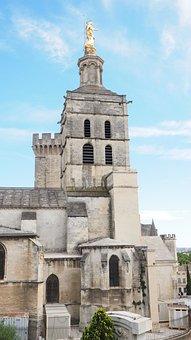 Cathedral Of Avignon, Avignon