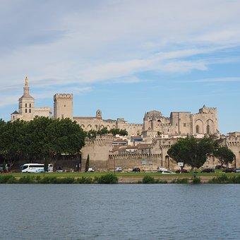 Avignon, City, City View, Cathedral, Palais Des Papes