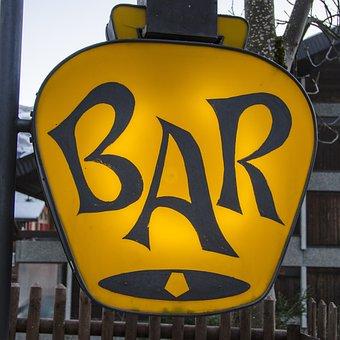 Lounge, Club, Sign, Bar, Drink, Cocktail, Beverage