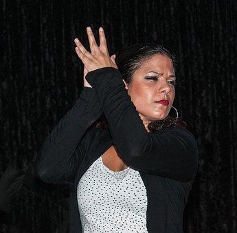 Dancer, Flamenco, Dance, Music, Spanish, Hands