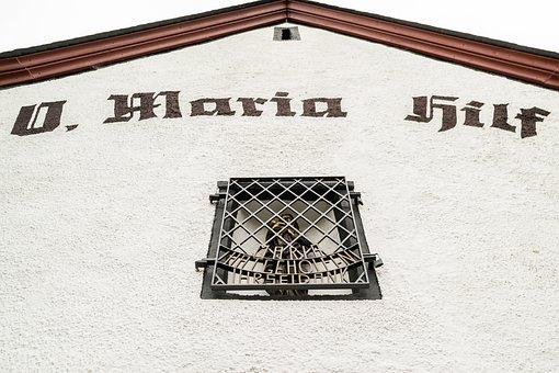 Church, Maria, Chapel, Help, Please, Faith, Facade