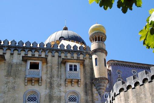 Portugal, Sintra, Fairy Castle, Fairytale