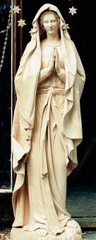 Holy Maria, Maria, Madonna, Holy, Christianity, Fig