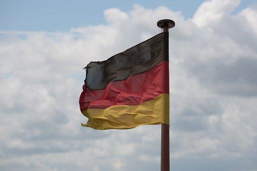 Flag, Germany, German Flag, Black Red Gold, German