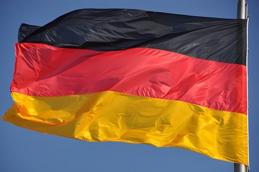 German, Flag, Germany, German Flag, Black Red Gold
