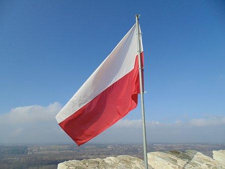 Flag, Polish, Poland