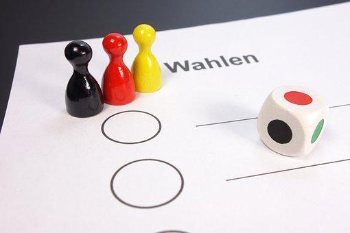 Elections, Germany, Flag, Bundestagswahl, Bundestag