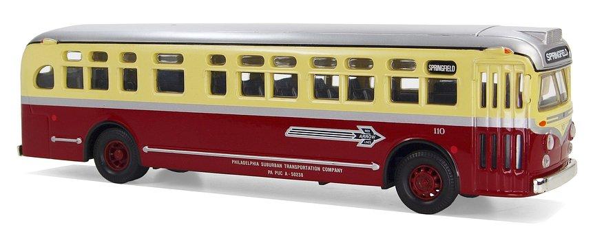 Gmc, 4509, Red Arrow Lines, Usa, Springfield