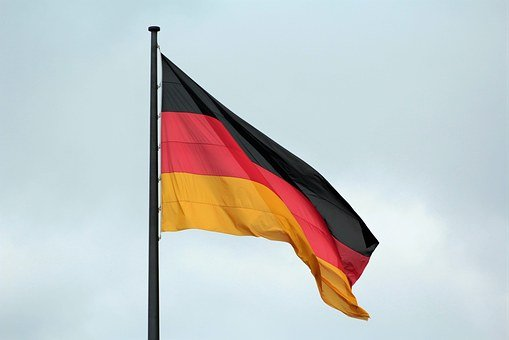 Germany Flag, Flag, Black, Red, Gold, Germany