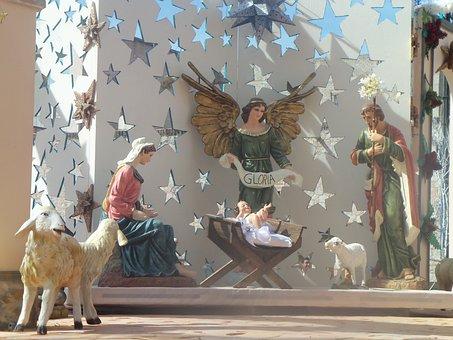 Birth, Christmas, Child Jesus, Christ, Happiness