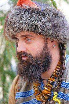 Beard, Man, Modesto, Hat, Headset, Portrait, Head