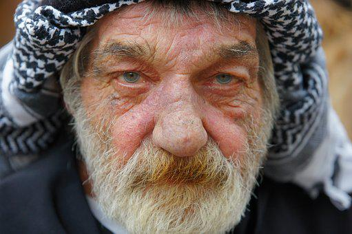 Arabic, Man, Portrait, Old Man, Person, Head, Look