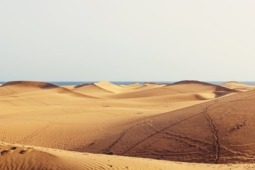 Dunes, Gran Canaria, Sand, Canary Islands, Holiday