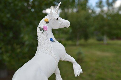 Unicorn, Horse, Fantasy, White, Horn Animal, Fairytale