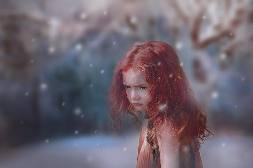 Girl, Forest, Enchanted, Young, Magic, Cute, Lonely