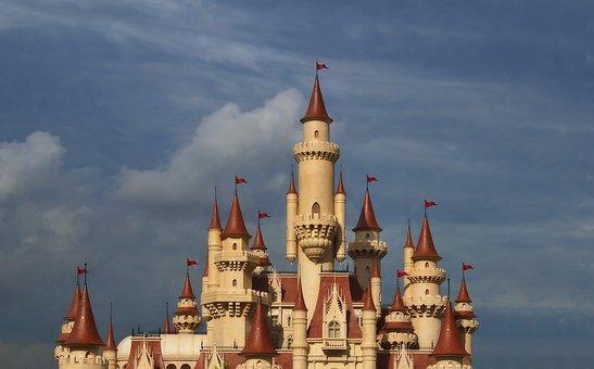 Castle, Fairytale, Tower, Fantasy, Romantic, Medieval