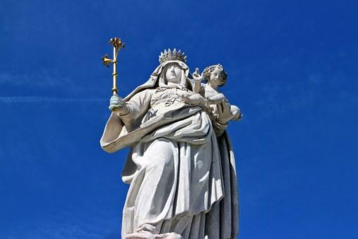 Mother, Maria, Statue, Figure, Mother Of God, Madonna