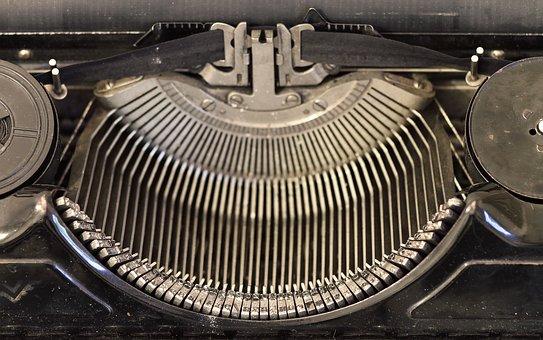Typewriter, Writer, Vintage, Old, Type, Nostalgia