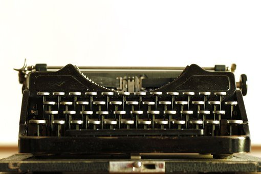 Typewriter, Writer, Vintage, Old, Type, Nostalgia