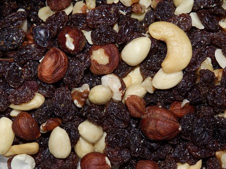 Nuts, Dried Fruit, Peanuts, Healthy, Fruit, Food, Dried