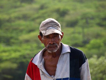 Old, Man, Brown, Race, Thoughtful, Black, Face, People