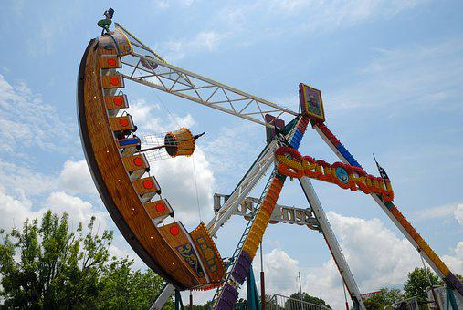 Amusement Park, Ride, Park, Fun, Recreation, Carnival