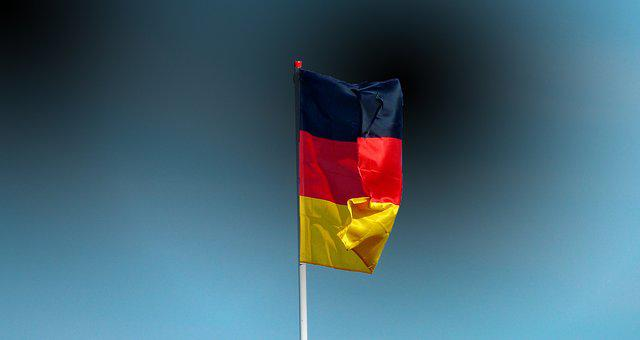 Germany Flag, Banner, Flag, Red, Gold, Flutter, Germany