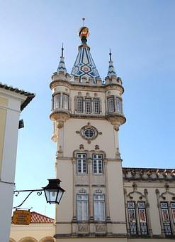 Fairy Tales, Wedding, Castle, Tower, Town Hall, Sintra