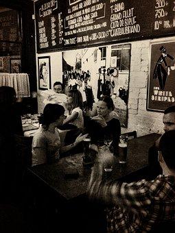 Bar, Pub, Stingers, Alcohol, Drink, Glass, Beer