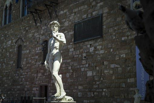 David, Statue, Florence, Europe, Italy, Tuscany