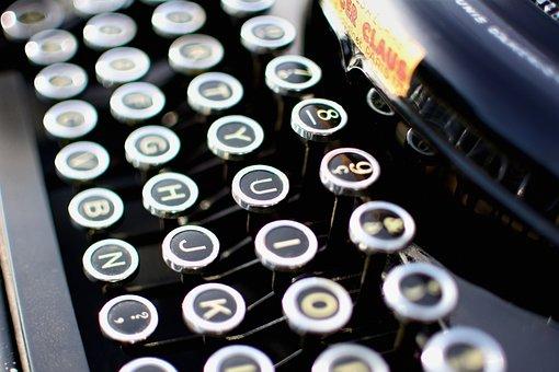 Typewriter, Vintage, Secretary, Remington, Retro