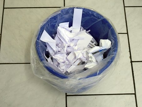 Recycle Bin, Paper, Waste, Garbage, Waste Paper