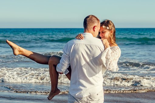 Love, A Couple Of, Young Couple, Mood, Sea, Excursion